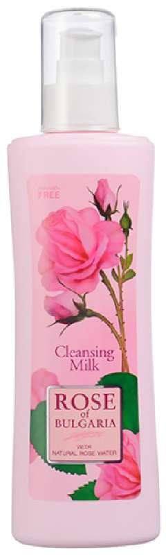 Роуз оф болгария (rose of bulgaria) молочко очищающее с дозатором 230мл, фото №1