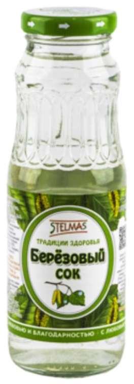 Стэлмас сок березовый с сахаром 0,25л упаковка, фото №1