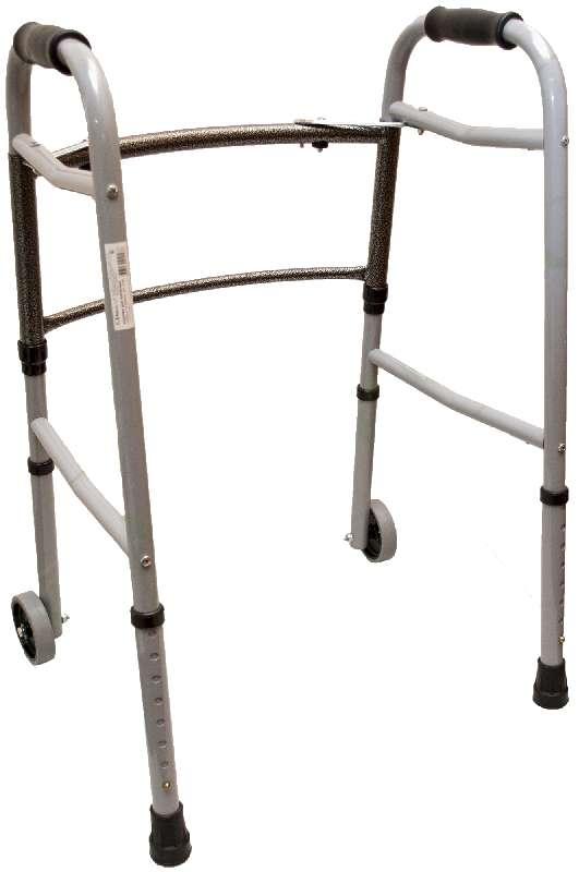 Аверсус опора-ходунки прогулочные x-2c на колесиках складные, фото №1
