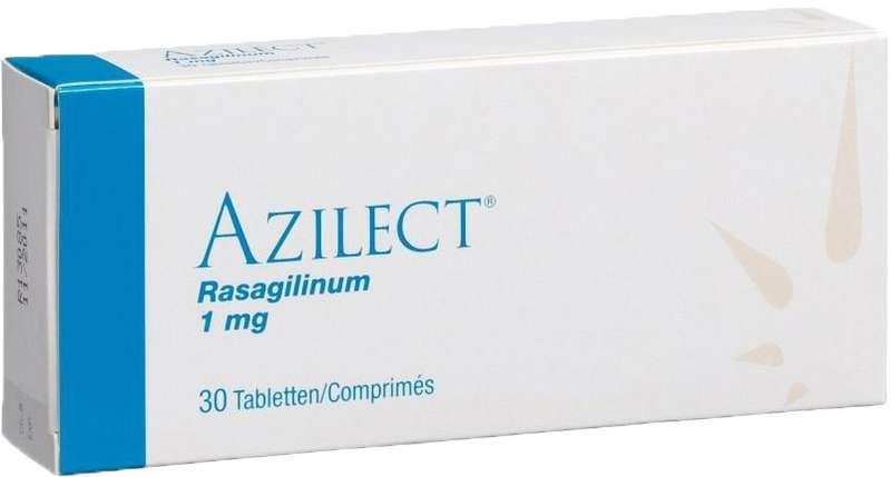 АЗИЛЕКТ таблетки 1 мг 30 шт.