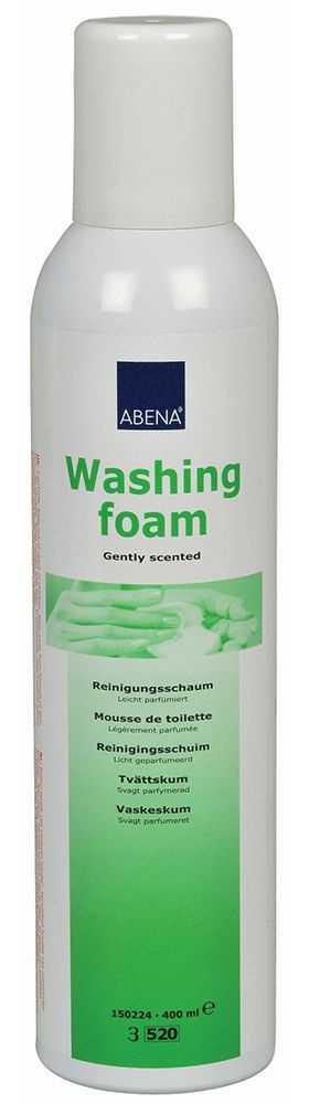 Абена пена для мытья и ухода за телом без использования воды 400мл, фото №1