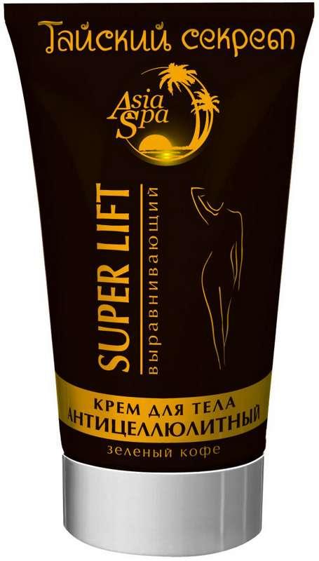 Тайский секрет супер лифт крем для тела антицеллюлитный зеленый кофе 150мл, фото №1