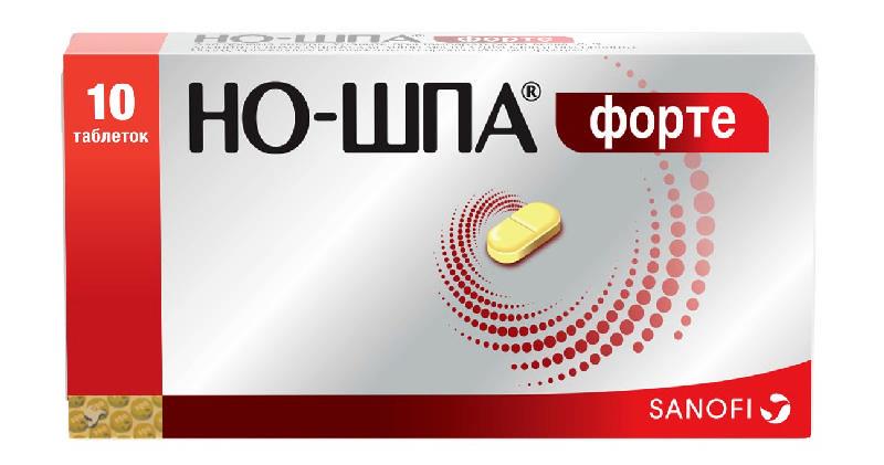 НО-ШПА ФОРТЕ таблетки 80 мг 10 шт.