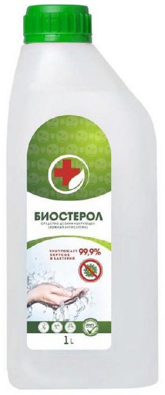 Биостерол средство дезинфицирующее (кожный антисептик) 1000мл биофармкомбинат ооо, фото №1
