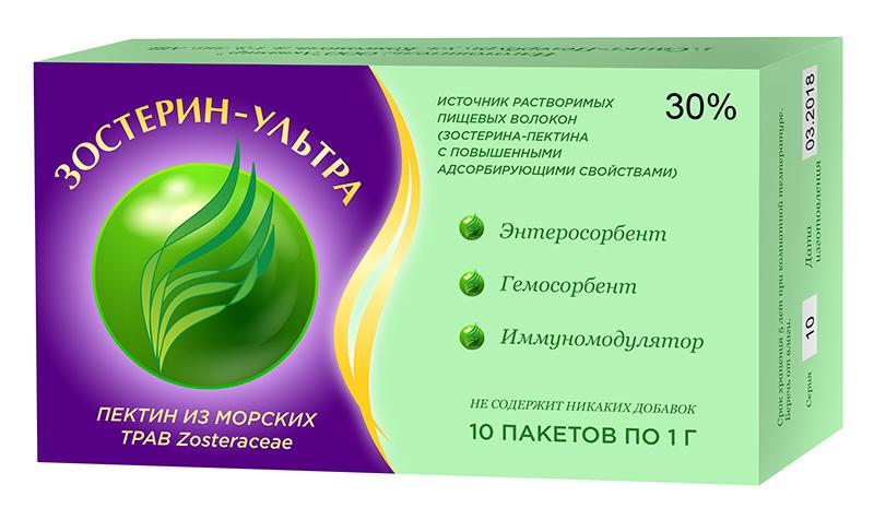ЗОСТЕРИН УЛЬТРА 30 пакеты 1г 10 шт.