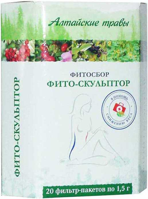 Алтайские травы фито-скульптор фитосбор 1,5г 20 шт. фильтр-пакет, фото №1