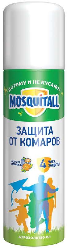 Москитол защита для взрослых аэрозоль от комаров 150мл, фото №1