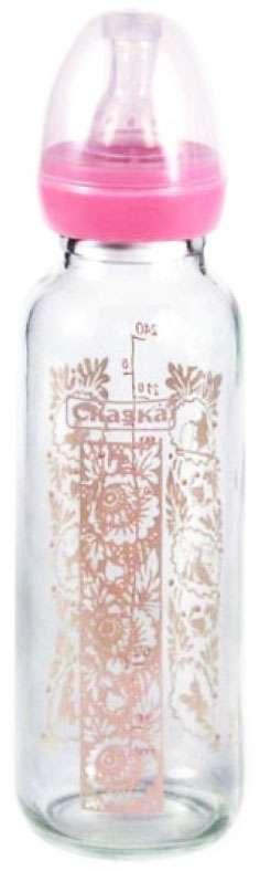 Сказка бутылочка соска силиконовая 240мл стекло (1119), фото №1
