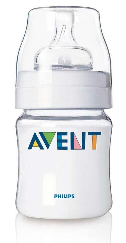 Авент классик бутылочка для кормления с соской для новорожденных 86030 (scf680/17) 125мл, фото №1