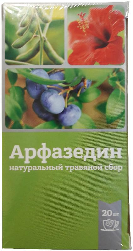 Арфазедин фиточай фильтр-пакет 2г 20 шт., фото №1