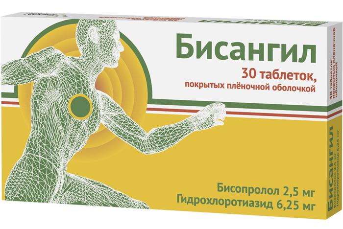 БИСАНГИЛ таблетки 30 шт.