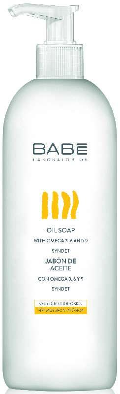 Бабе мыло масляное для сухой/чувствительной кожи 500мл, фото №1