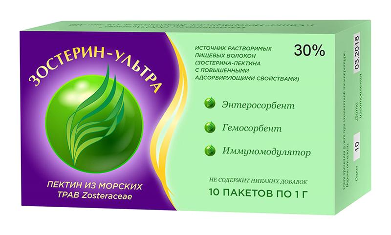 ЗОСТЕРИН УЛЬТРА 30 пакеты 1г 5 шт.