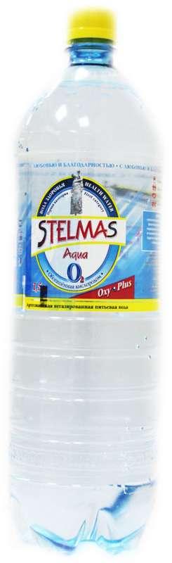 Стэлмас вода питьевая негазированная 1,5л бутылка пэт., фото №1