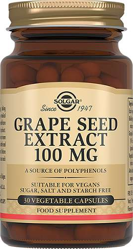Солгар экстракт виноградных косточек капсулы 30 шт., фото №1