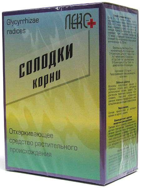 Солодка корень 20 шт., фото №1
