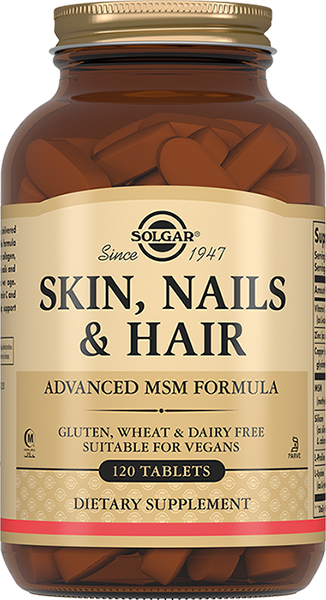 Солгар таблетки кожа, волосы, ногти 120 шт., фото №1