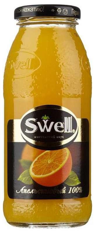 Свелл сок апельсиновый для детского питания 0.25л, фото №1