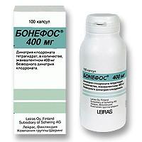 Бонефос 400мг 100 шт. капсулы, фото №1
