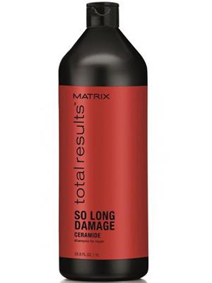 Матрикс тотал резалт соу лонг дэмэдж шампунь восстанавливающий для поврежденных волос 1л, фото №1
