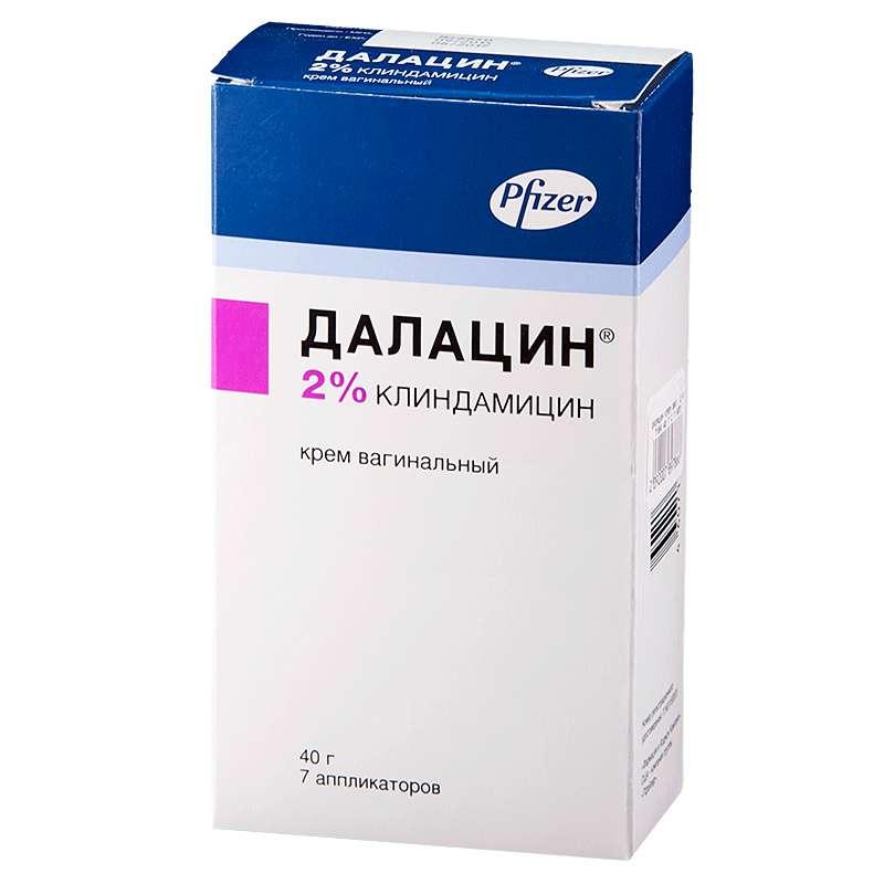ДАЛАЦИН крем вагинальный 2 % 40 г