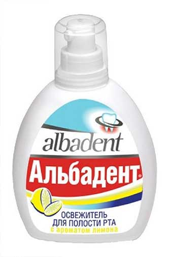 Альбадент освежитель для полости рта лимон 35мл, фото №1