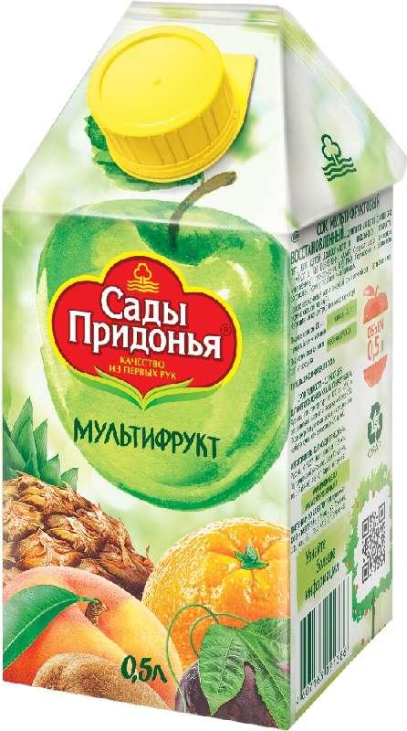 Сады придонья сок мультифрукт 500мл, фото №1
