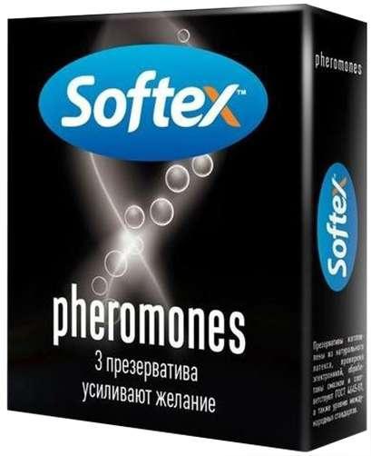 Софтекс презервативы феромонс 3 шт., фото №1