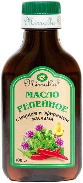 Мирролла масло репейное перец/эфирные масла 100мл, фото №1