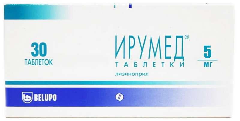 ИРУМЕД таблетки 5 мг 30 шт.