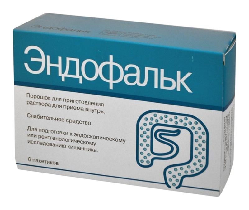 ЭНДОФАЛЬК 55,318г 6 шт. порошок для приготовления раствора для приема внутрь