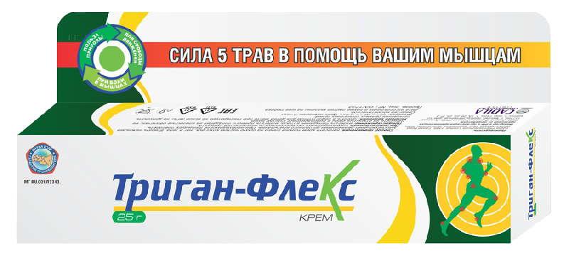ТРИГАН-ФЛЕКС крем для тела 25г