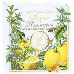 ФЬЕРИ ДЕЯ мыло Лимон и Розмарин 100г