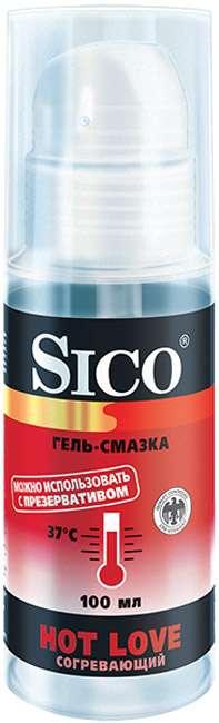 Сико гель-смазка hot love/согревающий 100мл, фото №1