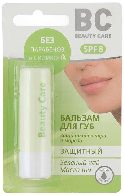 Биси бальзам для губ защитный с маслом ши и зеленым чаем 4,5г, фото №1