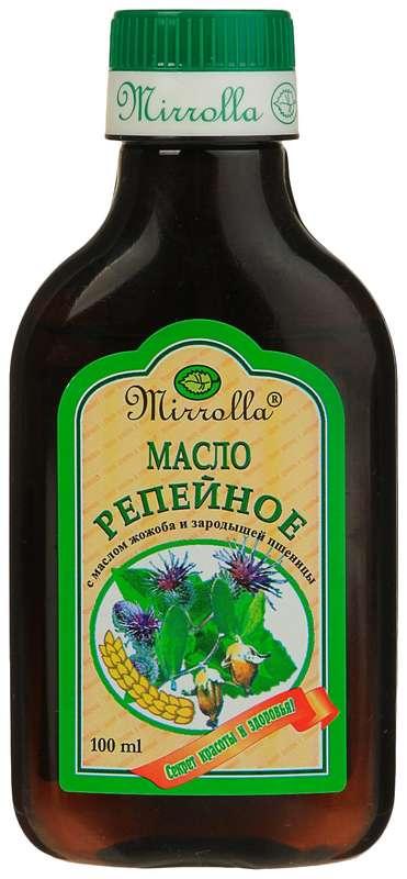 Мирролла масло репейное зародыши пшеницы/жожоба 100мл, фото №1