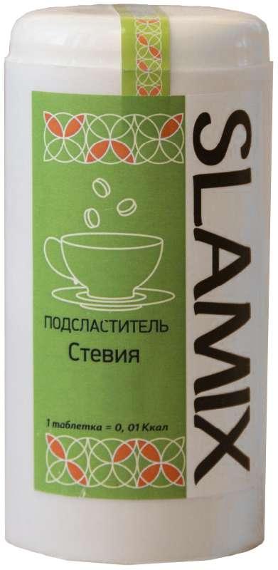 Сламикс подсластитель стевия 300 шт., фото №1