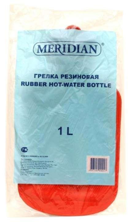 Меридиан грелка резиновая 1л, фото №1