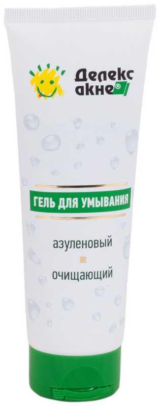 Делекс-акне гель для умывания очищающий азуленовый 125мл, фото №1
