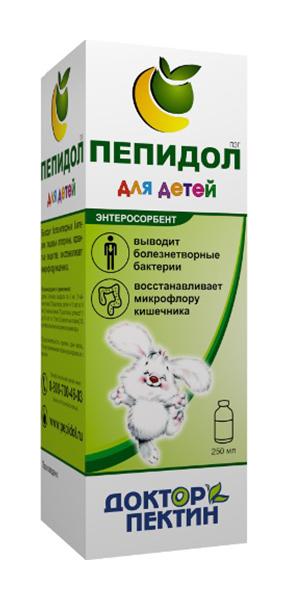 ПЕПИДОЛ ПЭГ раствор 3% для детей 250мл