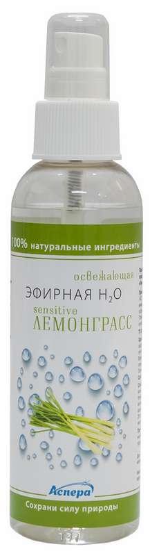 Аспера эфирная н2о сенситив спрей для лица и тела лемонграсс 150мл, фото №1