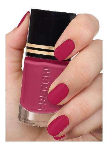 Френчи лак-укрепитель для ногтей тон-66 розовый фламинго 11мл, фото №1