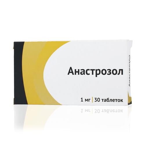 АНАСТРОЗОЛ таблетки 1 мг 30 шт.