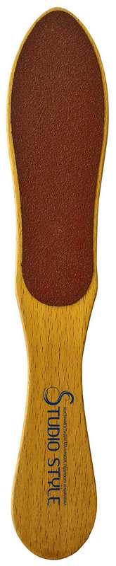 Студио стайл терка для стоп деревянная арт.44011-4417, фото №1