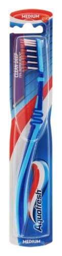 Аквафреш макс актив зубная щетка средняя, фото №1