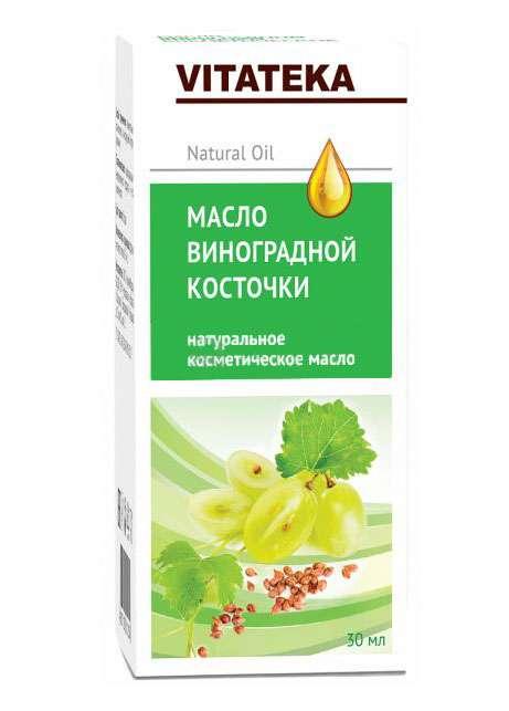 Витатека масло косметическое виноградных косточек 30мл, фото №1