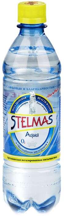 Стэлмас вода питьевая негазированная воды здоровья 0,6л останкинский завод напитков, фото №1