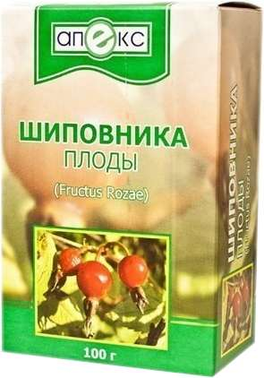 Шиповник плоды 100г, фото №1