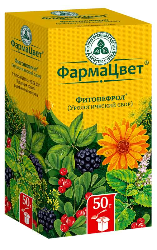 СБОР УРОЛОГИЧЕСКИЙ Фитонефрол 50г
