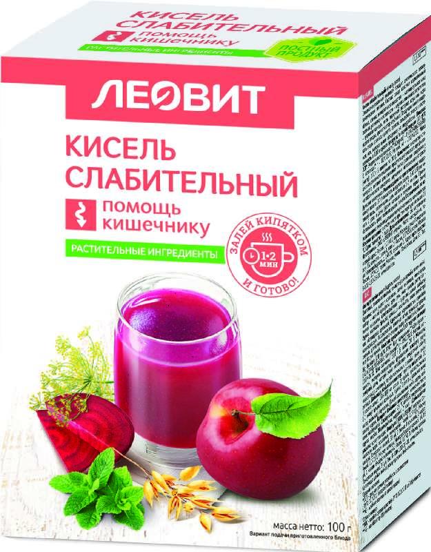 ЛЕОВИТ БИОИННОВАЦИИ кисель диетический Слабительный 20г 5 шт.